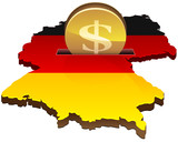 Deposit dollars in Germany poster