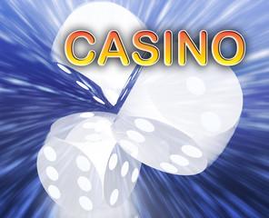 Gambling dice casino background
