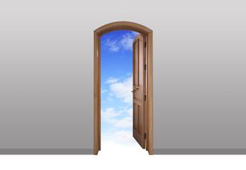 Porta aperta sul cielo