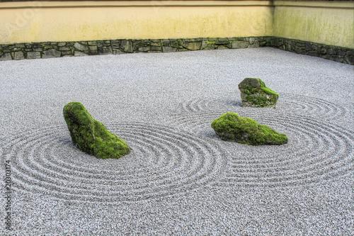 Japanese Zen Sand Garden - 20303174