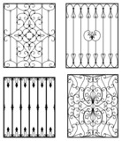Wrought iron modules poster