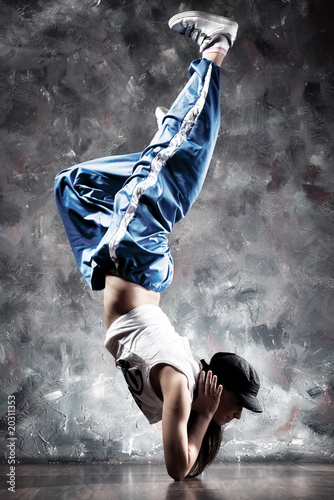 Young woman dancer