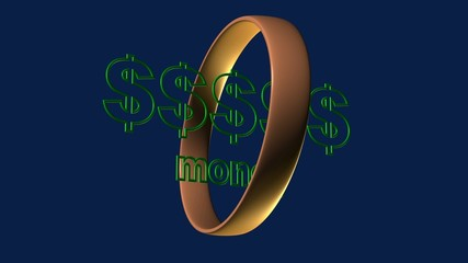 money - 3D Animation