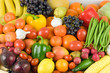 Fresh fruit and vegetable variety