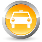 Fototapety Taxi - Button