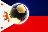 Flag of Philippines soccer