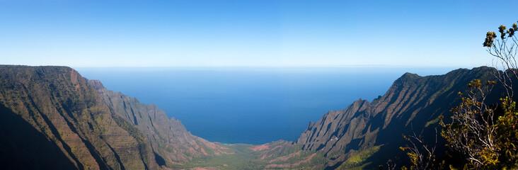 Panorama of Kalalua valley