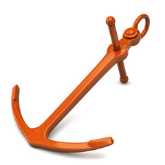 orange anchor