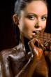 Chocoate woman