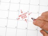 Project Deadline Calendar