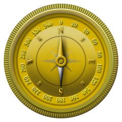 Goldener Kompass
