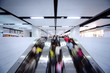 People using escalator - 20342178