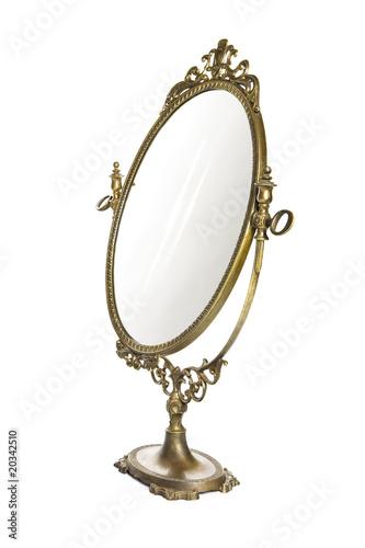 Leinwanddruck Bild Antique mirror