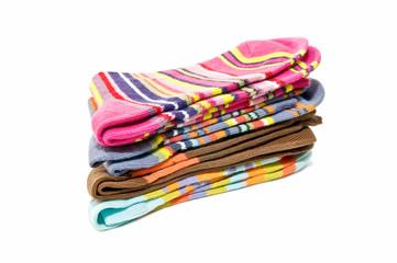 calcetines apiladas