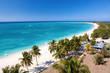 Beautiful tropical  beach at the Caribbean island - 20347311