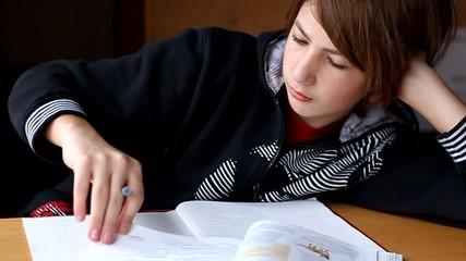 Hausaufgaben Jugendlicher