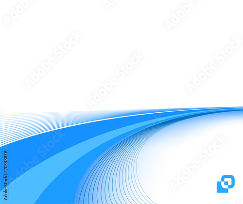 blue business background template