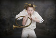Cupid and Brass Trumpet