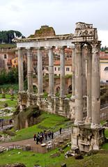 Roman Forum Romanum in Italy