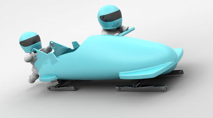 two man bobsleigh