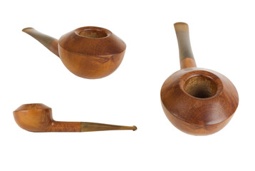 broadhead wooden tobacco pipe