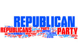 Republican party competition poster
