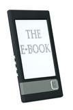 Modern ebook reader poster