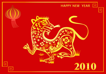 chinese New Year : the Year of the Tiger