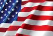 vector american flag - 20370772