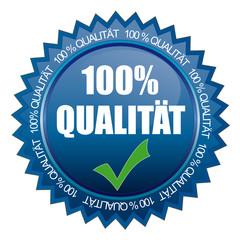 100% Qualität Siegel