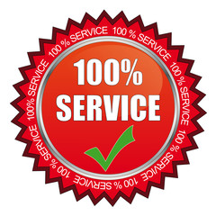 100% Service Siegel