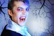 aggressive vampire