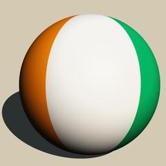 Elfenbeinküste-Ball