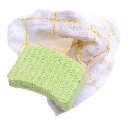 Sponge and Dirty Rag