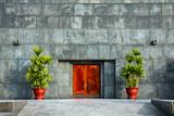 Ho Chi Minh Mausoleum Door poster
