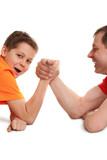 funny arm wrestling poster