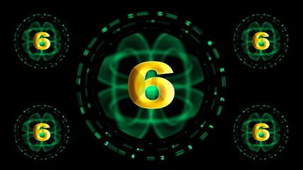 Countdown from ten to zero