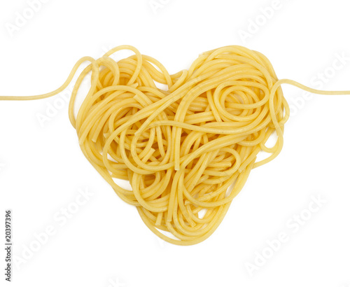 Pasta heart (valintine`s day theme) - 20397396