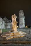 Pisa: Cattedrale, Torre Pendente e Fontana dei Putti poster