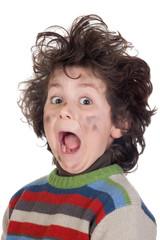Child plug receiving electric shock