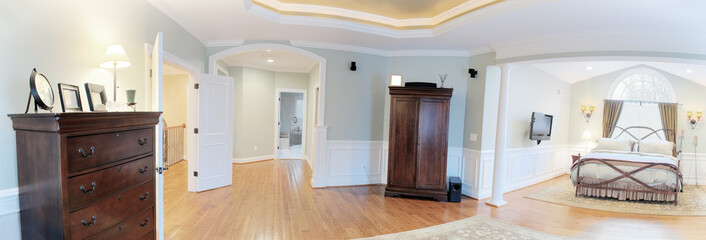 Panoramic Master Suite Interior