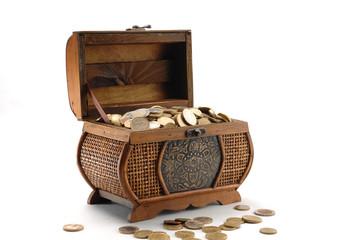 Scrigno porta monete
