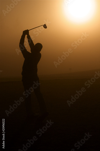 Golden Golfer