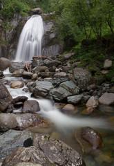 Korbu waterfall on Altai