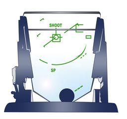 戦闘機の照準器