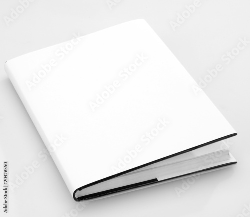 Leinwanddruck Bild Blank book cover