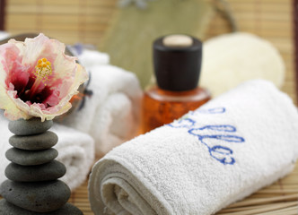 décor zen massage