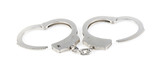 steel metallic handcuffs