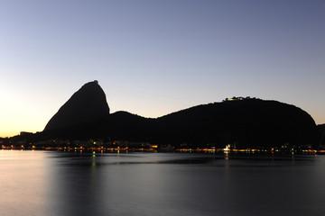 Sunrise in Rio de Janeiro, Sugarloaf Mountain