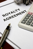 Royalty Agreement poster